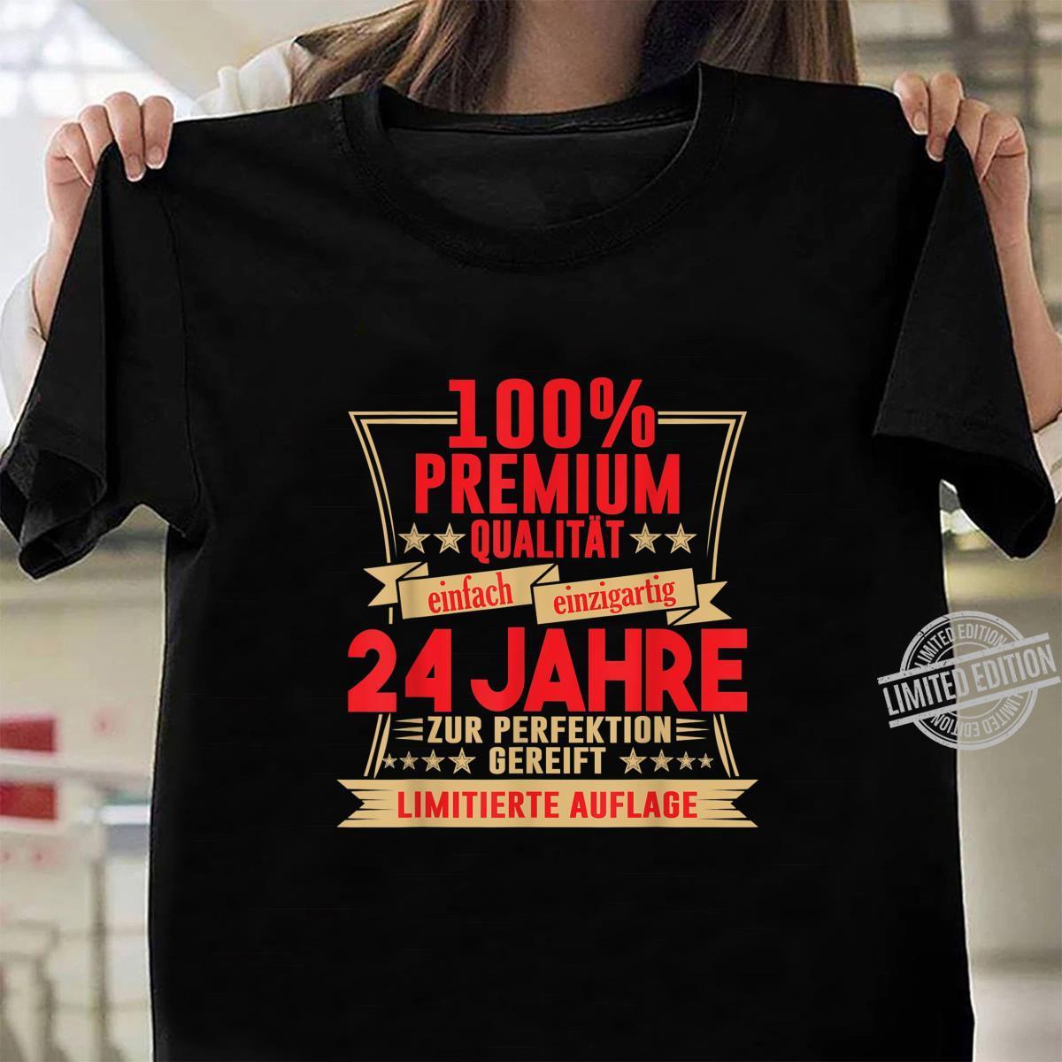 24. Geburtstag 24 Jahre Vintage Retro Jahrgang 1996 Geschenk Shirt ladies tee