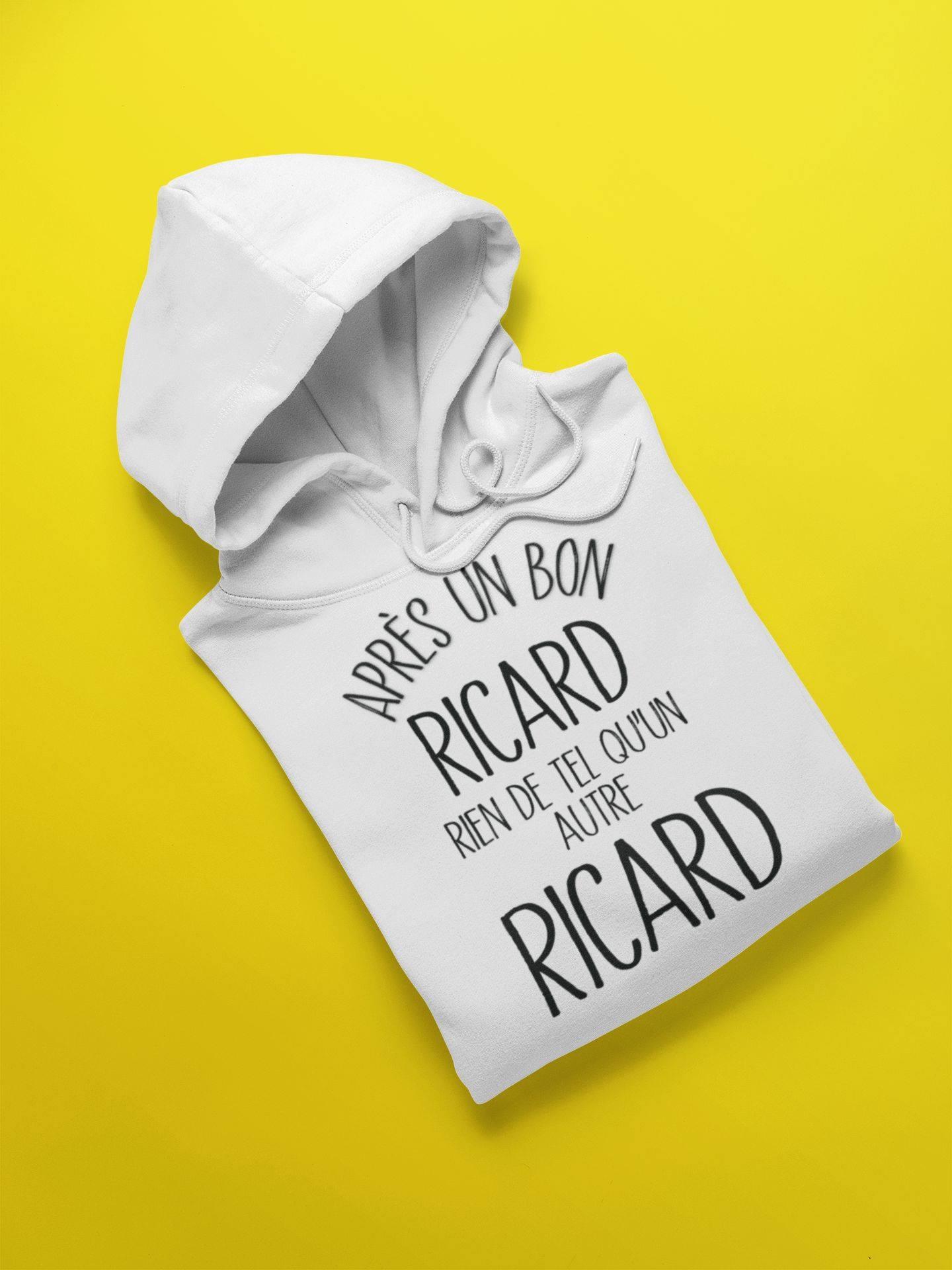 Apres un bon ricard rien de tel qu'un autre ricard shirt