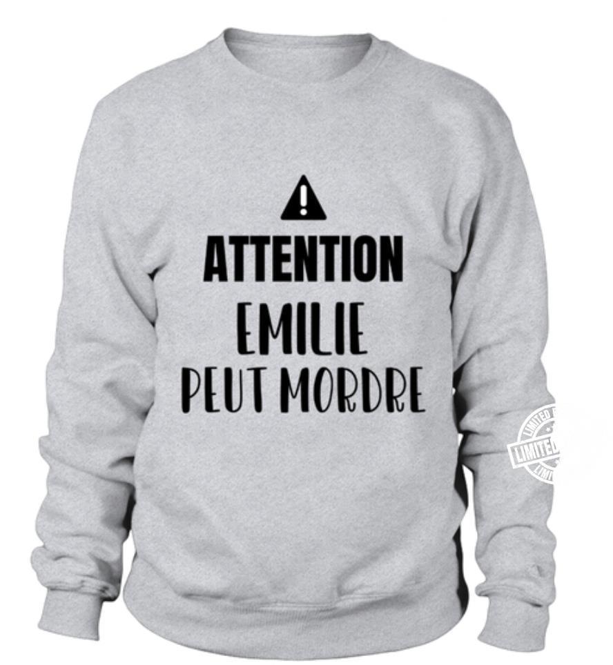 Attention emilie peut mordre shirt