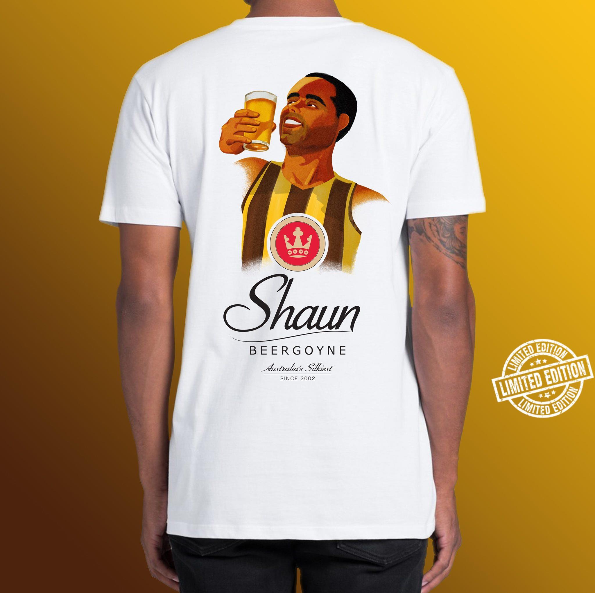 Shaun beergoyne australia's silkiest shirt